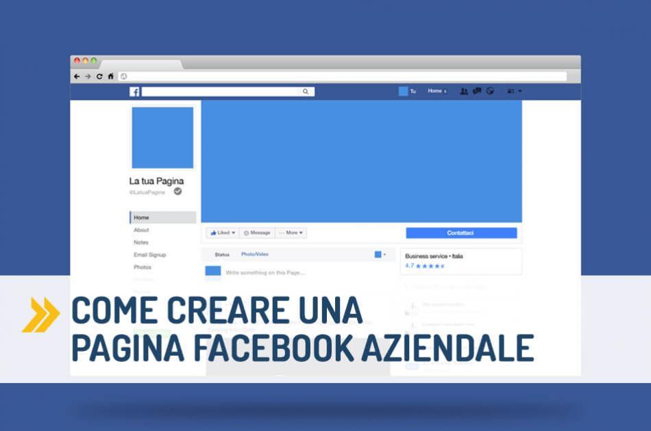 Come aprire pagina Facebook aziendale