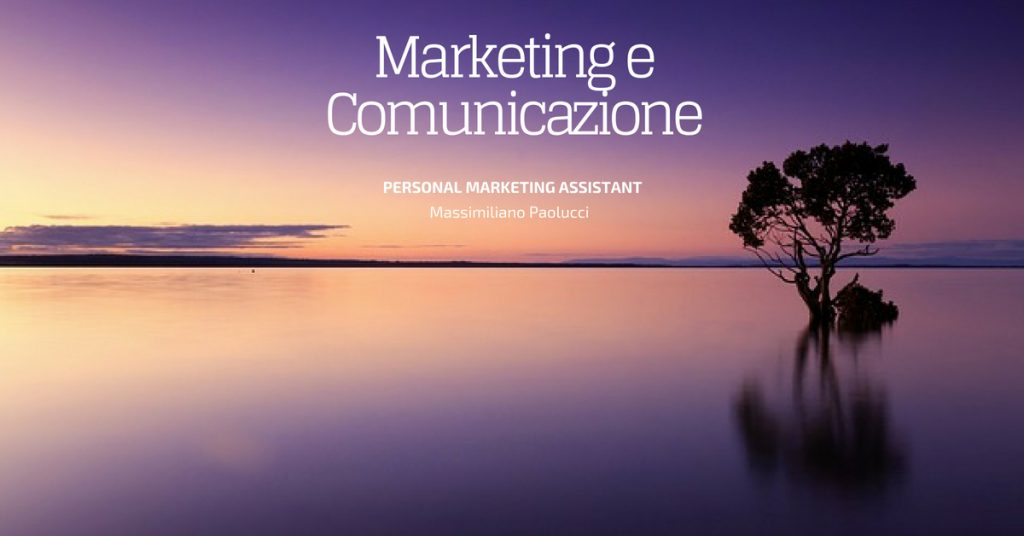 marketing e la comunicazione